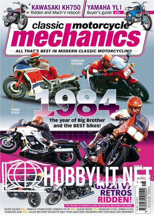Classic Motorcycle Mechanics - June 2019