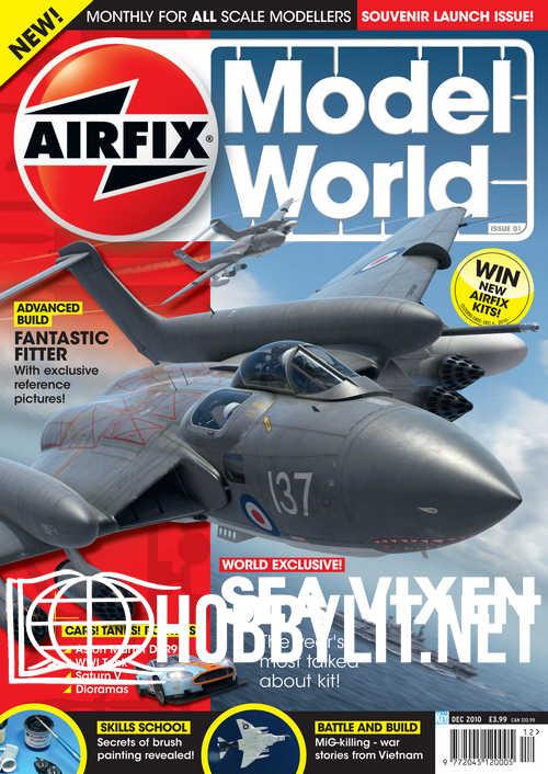Airfix Model World 001 - December 2010