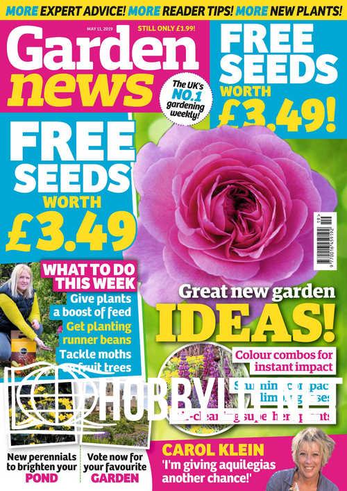 Garden News – May 11, 2019