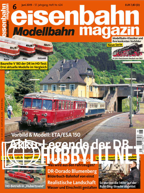 Eisenbahn Magazin 2019-06