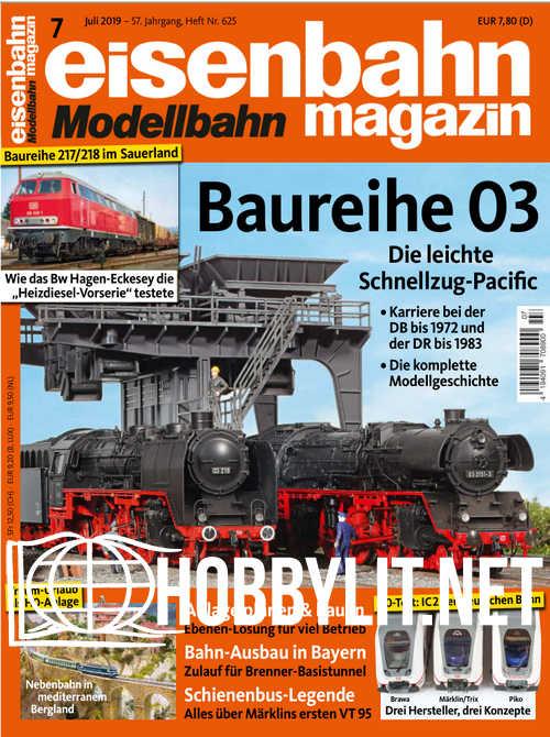 Eisenbahn Magazin 2019-07