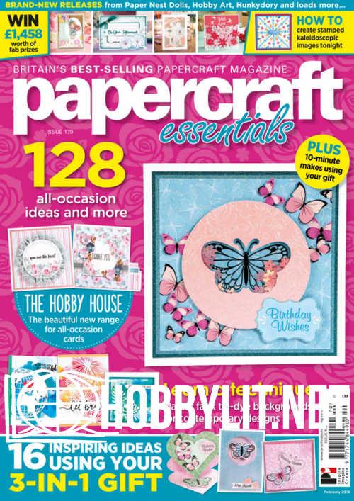Papercraft Essentials Issue 170
