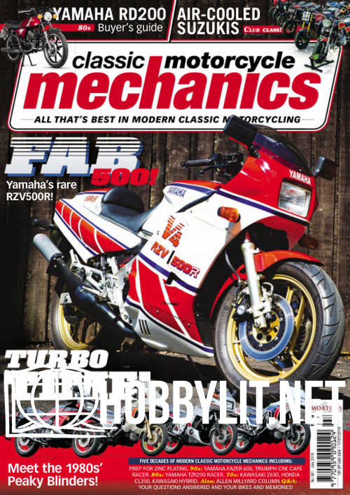 Classic Motorcycle Mechanics - July 2019