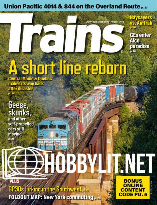 Trains - August 2019