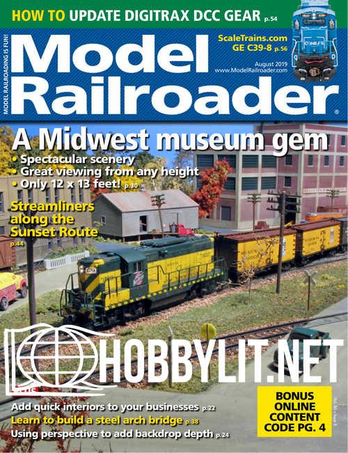 Model Railroader - August 2019
