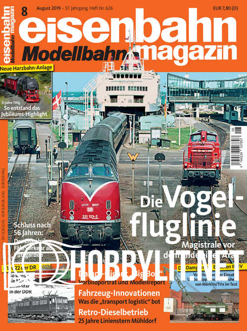 Eisenbahn Magazin 2019-08
