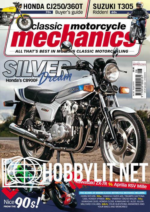 Classic Motorcycle Mechanics - August 2019