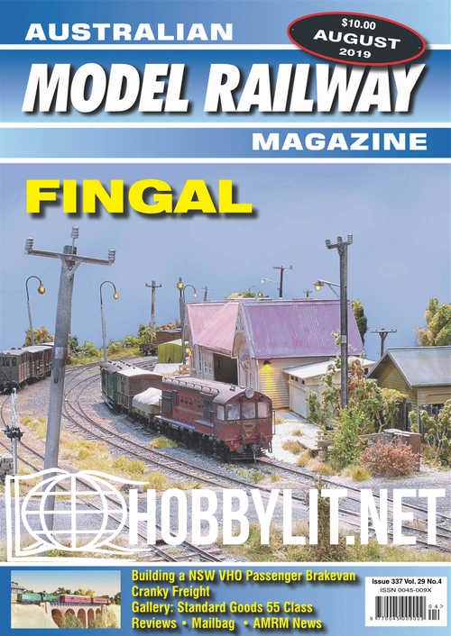 Australian Model Railway Magazine  - August 2019