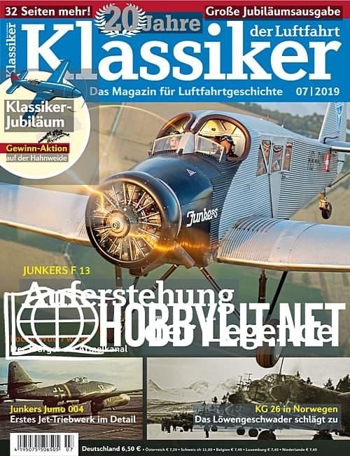Klassiker der Luftfahrt 2019-07