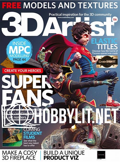 3D Artist Issue 136