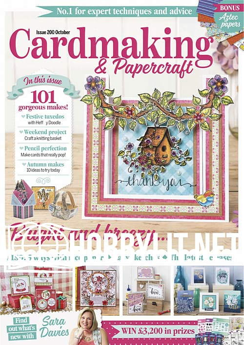 Cardmaking & Papercraft - October 2019