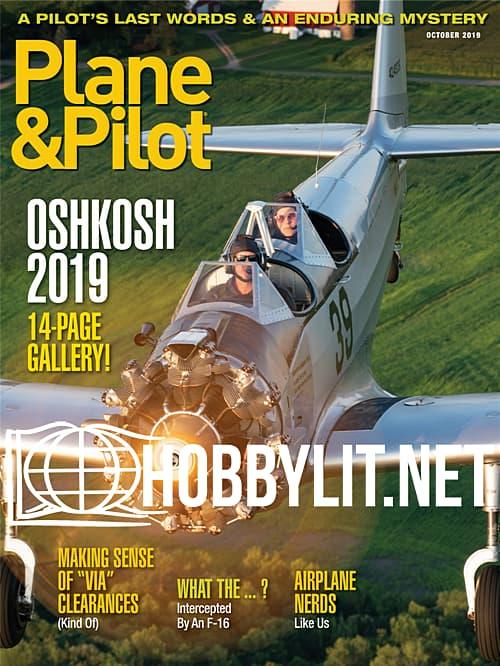 Plane & Pilot - October 2019