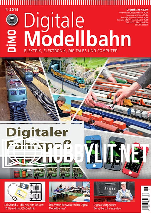 Digitale Modellbahn 2019-04