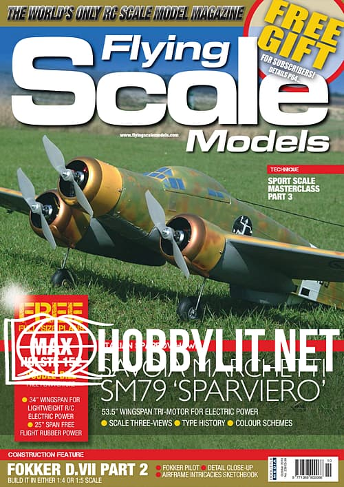 Flying Scale Models - October 2019