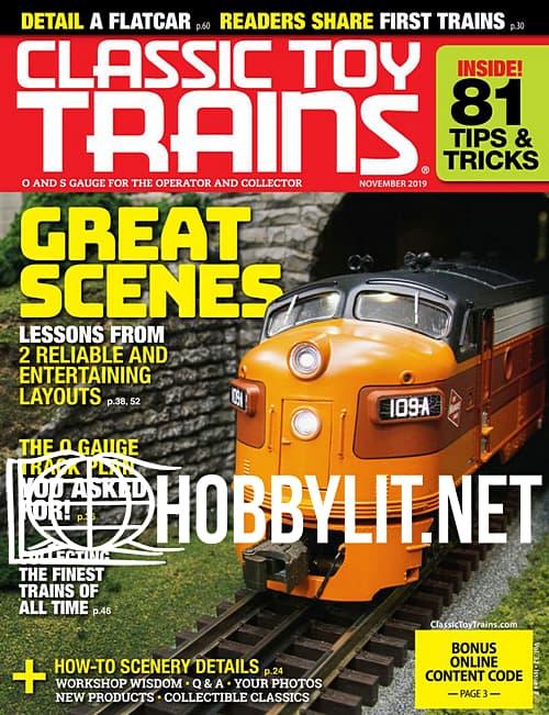 Classic Toy Trains - November 2019