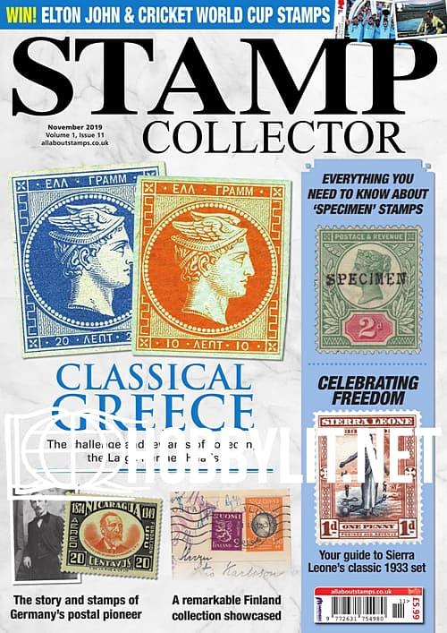 Stamp Collector – November 2019