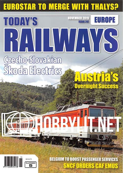 Today's Railways Europe - November 2019