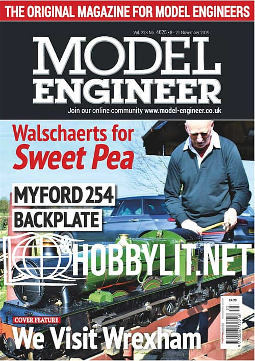 Model Engineer 4625 - 8-21 November 2019