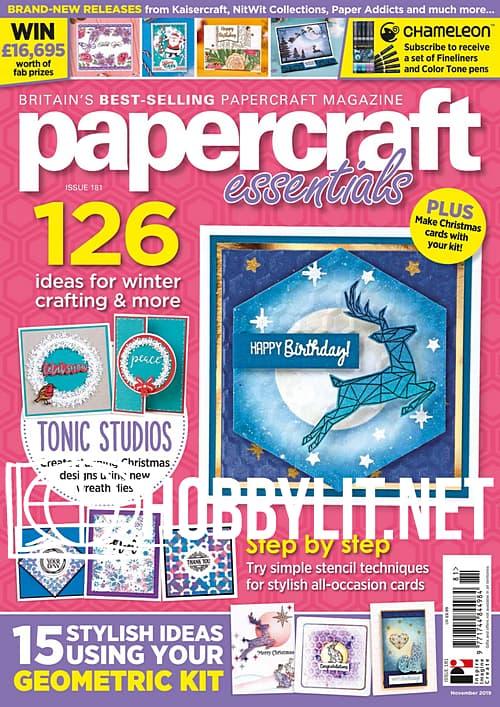Papercraft Essentials Issue 181
