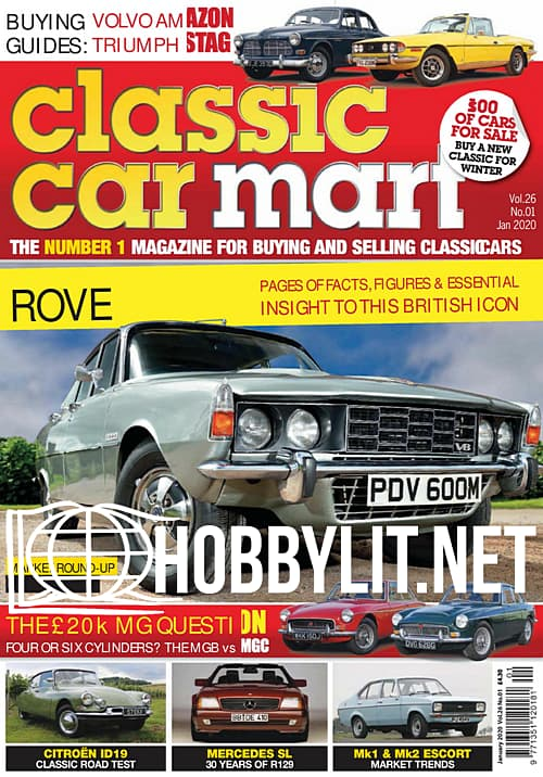 Classic Car Mart - January 2020