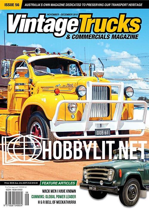 Vintage Trucks & Commercials - November-December 2019