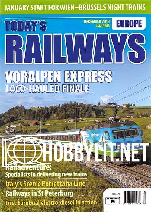 Today's Railways Europe - December 2019