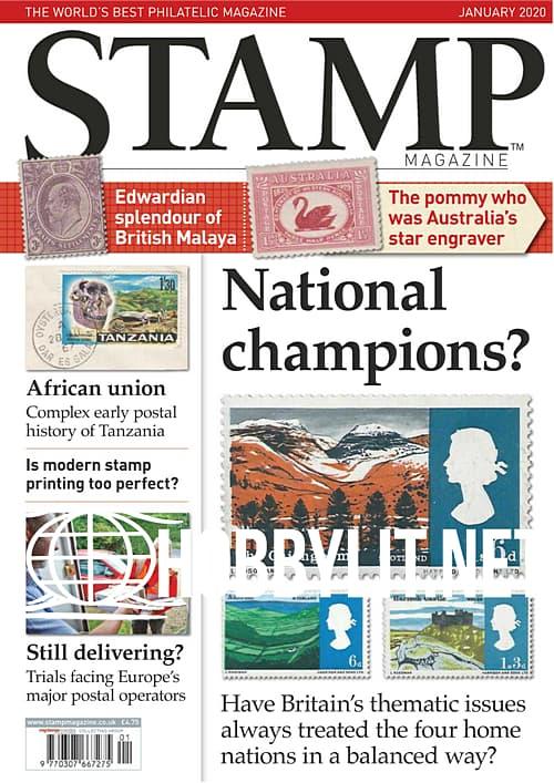 Stamp Magazine  - January 2020
