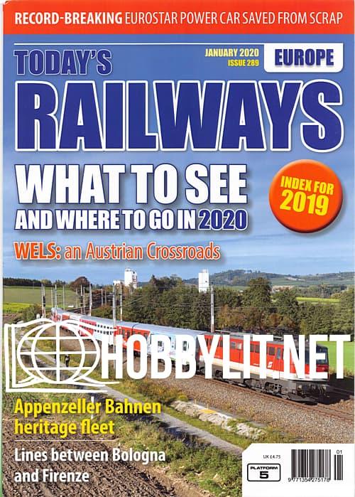Today's Railways Europe - January 2020