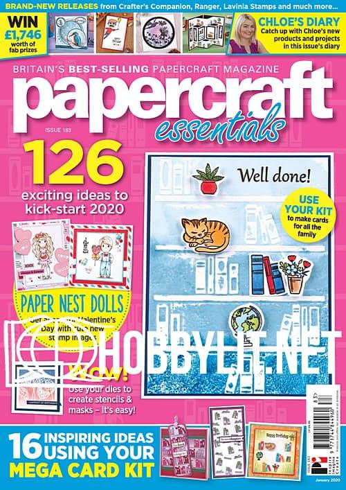 Papercraft Essentials Issue 183