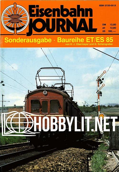 Eisenbahn Journal Sonderausgabe - Baureihe ET/ES 85
