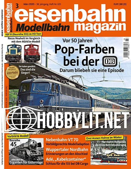 Eisenbahn Magazin – März 2020