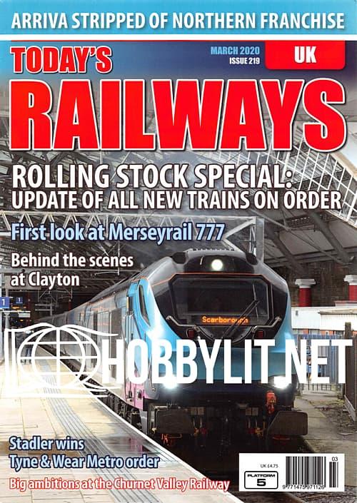 Today's Railways UK - March 2020