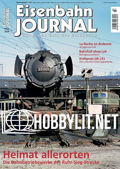 Eisenbahn Journal - März 2020