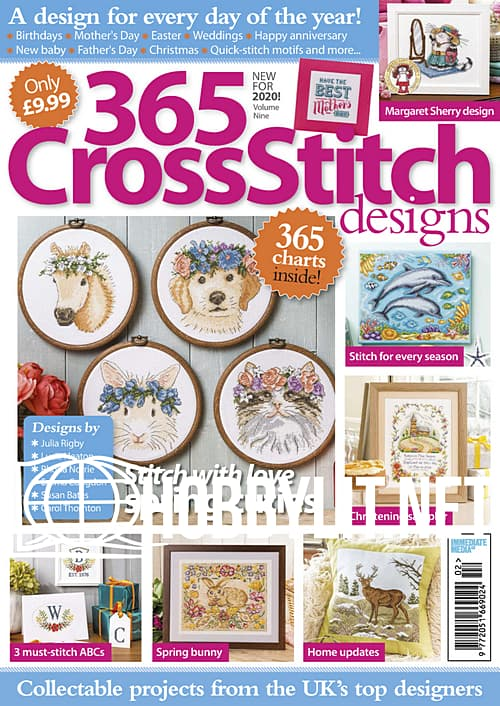 365 Cross Stitch Designs Volume 9, 2020