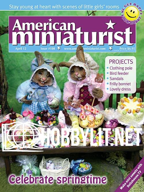 American Miniaturist – April 2012