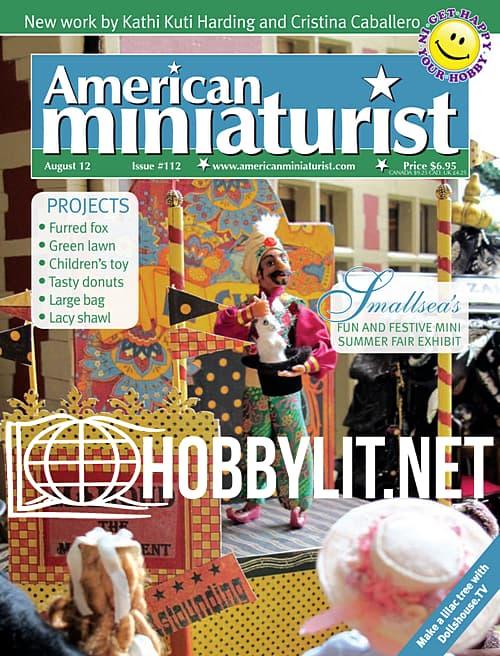 American Miniaturist - August 2012
