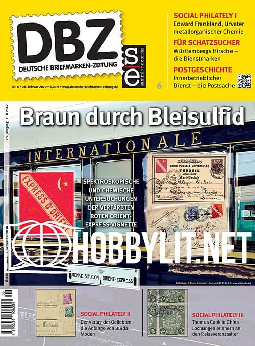 Deutsche Briefmarken-Zeitung - 28 Februar 2020