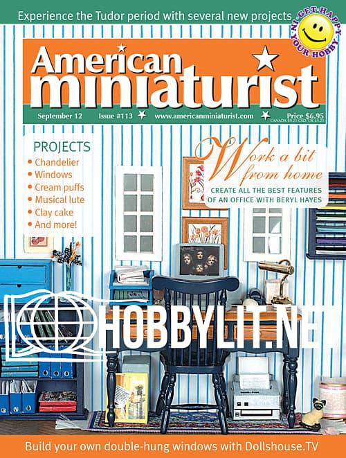 American Miniaturist - September 2012