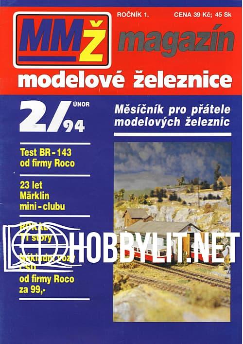 Magazin Modelove Zeleznice 002 - 1994-02
