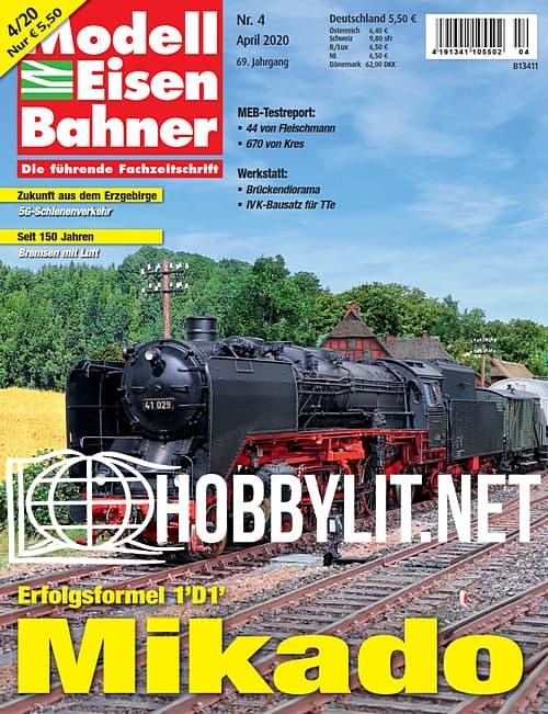 ModellEisenBahner - April 2020