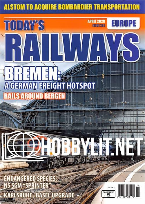 Today's Railways Europe - April 2020