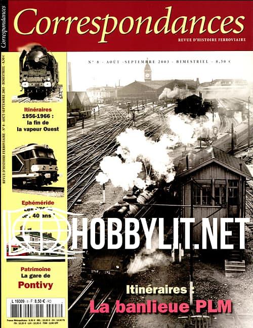 Correspondances Ferroviaires 08 - Aout/Septembre 2003