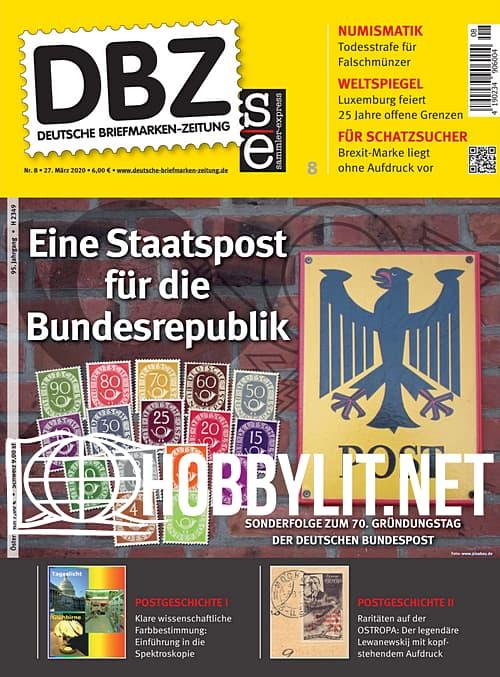 Deutsche Briefmarken-Zeitung - 27 Marz 2020