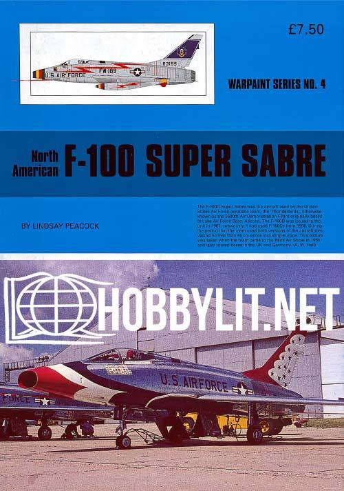 Warpaint Series 4 - F-100 Super Sabre