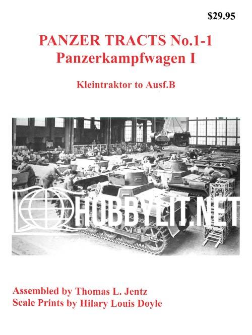 Pannzerkampfwagen I.Kleintraktor to Ausf.B
