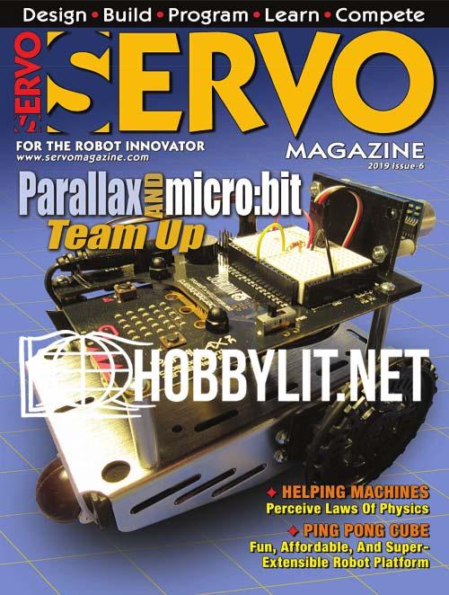 Servo Magazine Issue 6, 2019