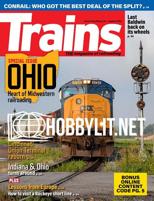 Trains - August 2020