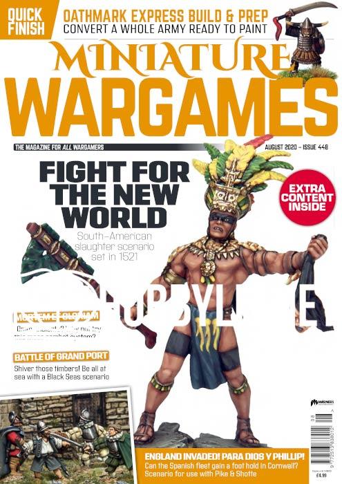 Miniature Wargames - August 2020