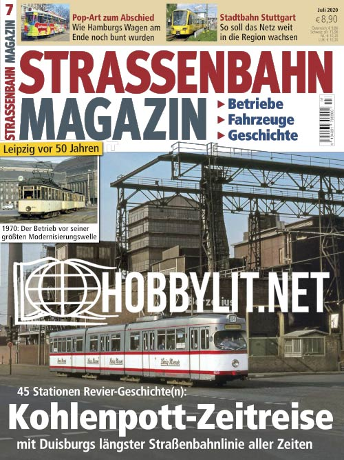 Strassenbahn Magazin - Juli 2020