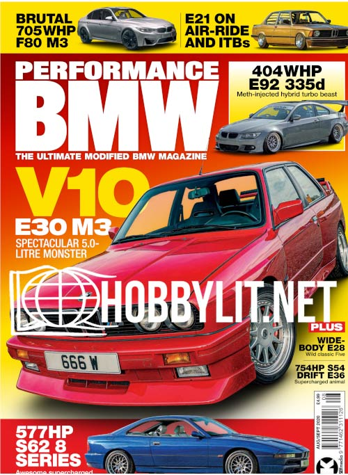 Performance BMW - August-September 2020